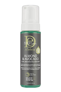 Amande & Avocat Mousse sublimante pour boucles